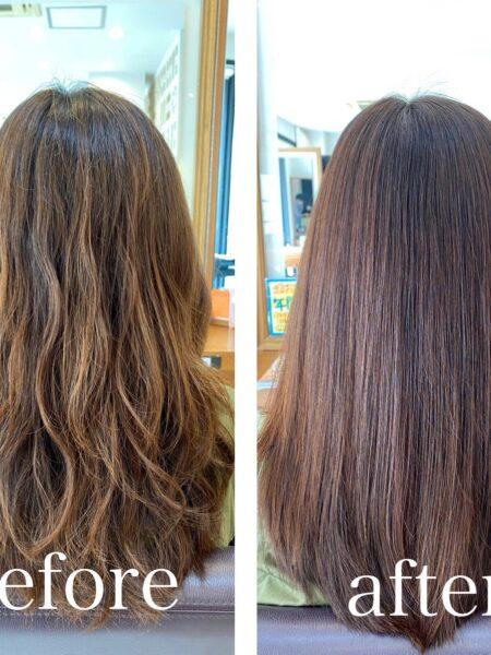 ノンダメージカラー×髪質改善トリートメント