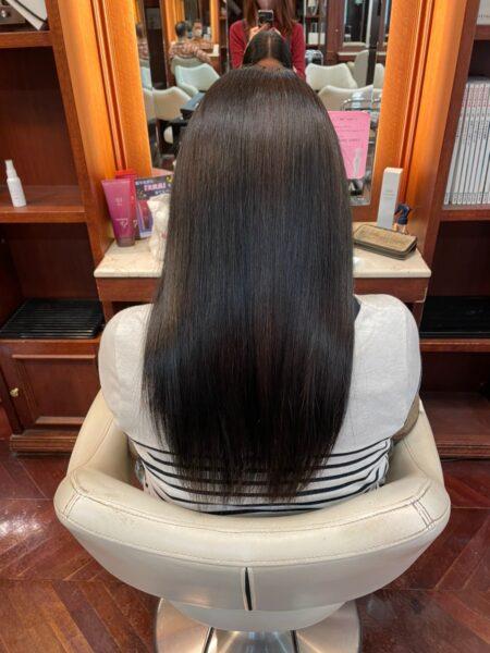 ノンダメージカラー×サブリミックトリートメントでサラツヤ髪